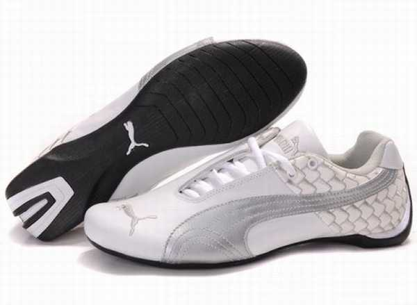Aviator Cher Ville Pas Cuir Mostro Puma Chaussure Homme H9WED2IY