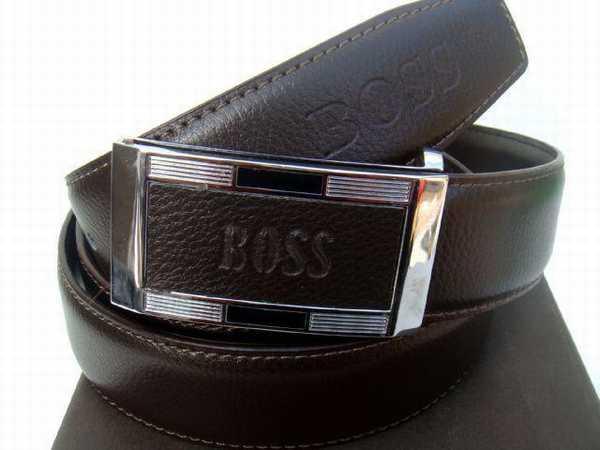ea4bdf90611 ceinture boss marron