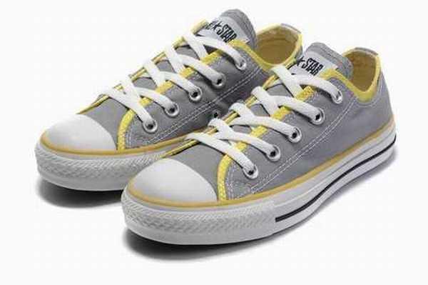 pale converse chaussure blanche converse cuir chaussure jaune Yq0Rzavw