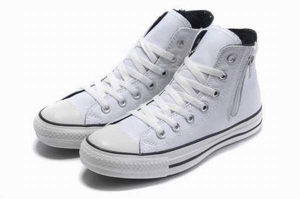 chaussure converse cuir noir 40 chaussure converse la