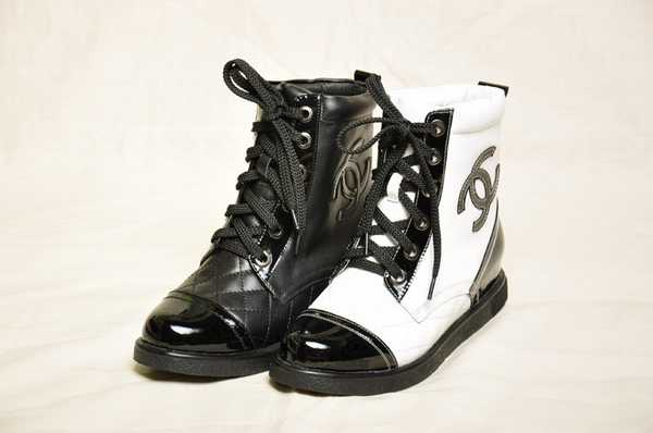 2e9c5b6bf2a chaussures a talon chanel replique chaussure chanel pas cher baskets chanel  mode printemps