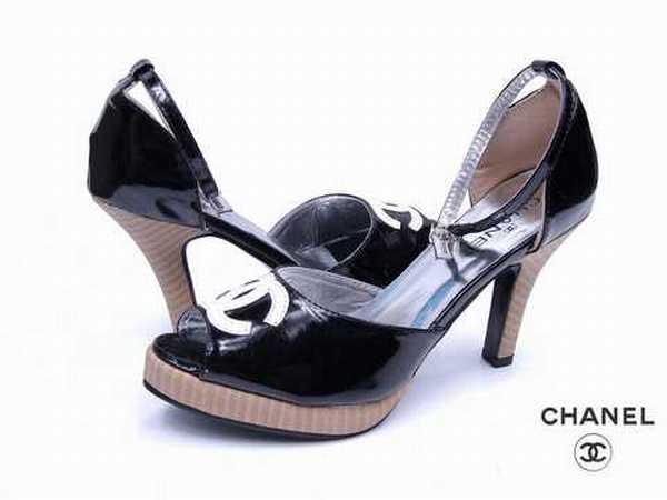 chaussures chanel pas cher. Black Bedroom Furniture Sets. Home Design Ideas