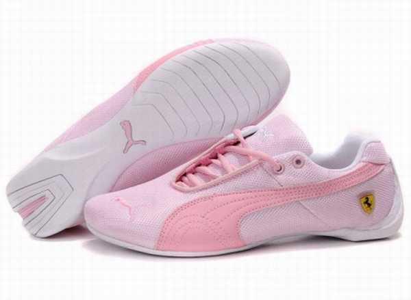 chaussures baskets Puma Ferrari Homme Rouge Mostro 153TFcJulK