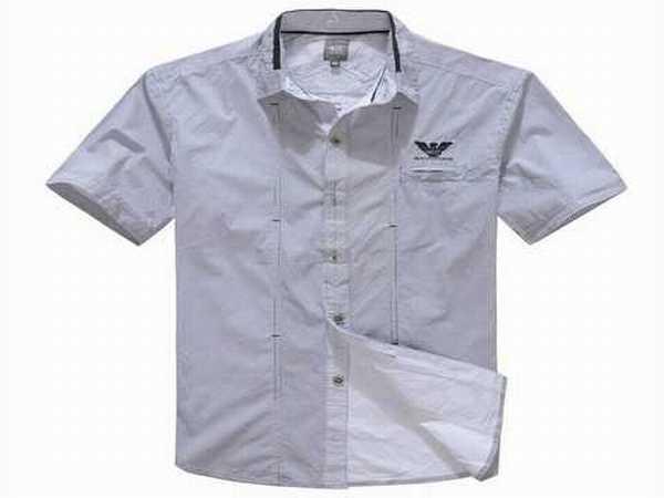 Chemise homme manche courte coupe droite chemise femme en - Chemise coupe droite homme ...
