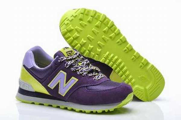 baskets new balance courir