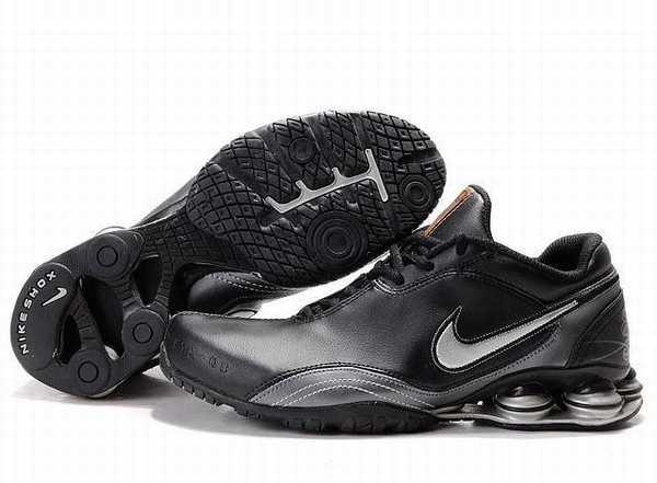 Nike Shox Rivalry Cuir Noir Quizz