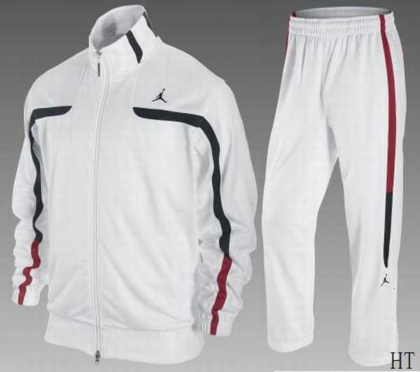 jogging hommes nike blanc