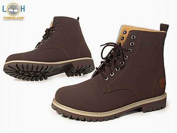timberland homme taille